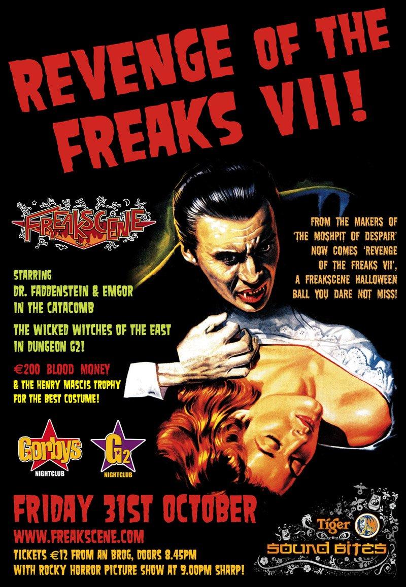Freakscene halloween 2008 side A