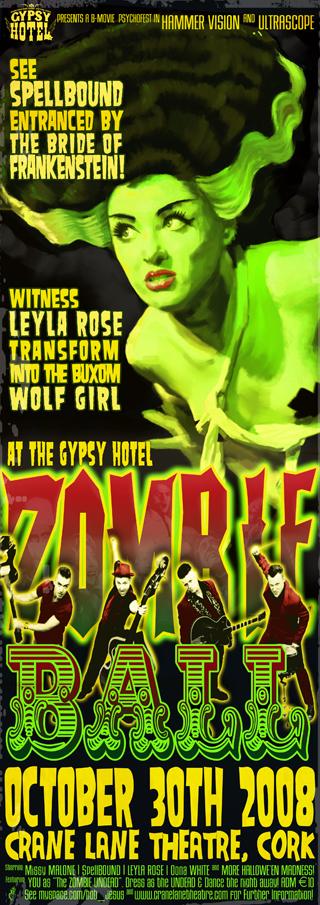 Crane Lane Zombie poster